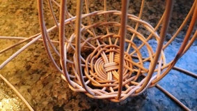 Garlic Basket in Progress